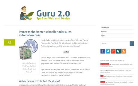 Guru-20.info in der Vorstellung