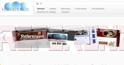 HSwebdesign.de in der Vorstellung