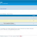 phpBB-Forum Frontend