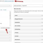 menues in Wordpress