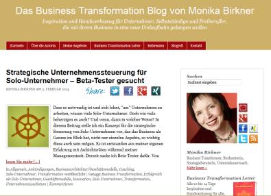 Blog Monika-birkner.de