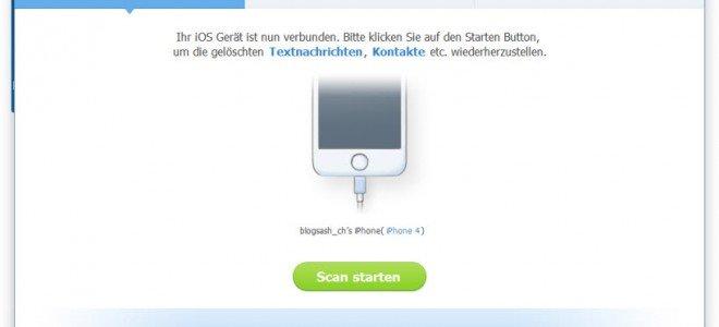 iPhone-Wiederherstellung mit Dr.Fone – dem ultimativen Tool!