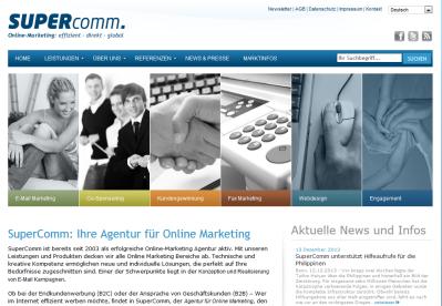 Onlinemarketing mit SuperComm