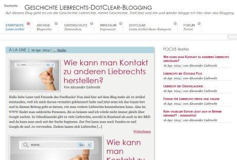 Blog Alexanderliebrecht.de