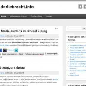 Alexanderliebrecht.info Blog