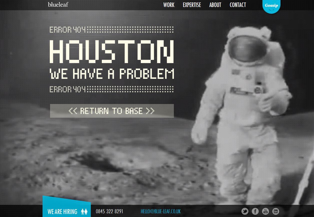 26 kreative 404-Ferhlermeldungen + Bonus