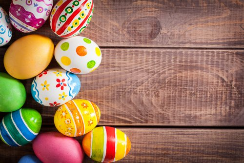 Wünsche allen frohe Ostertage!