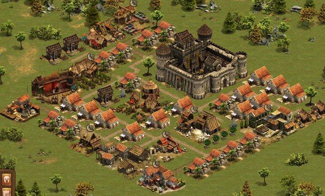 Ich spiele das Browsergame Forge of Empires