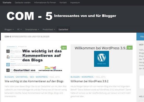Blog Com-5.de