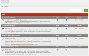 e107-cms-forum-frontend