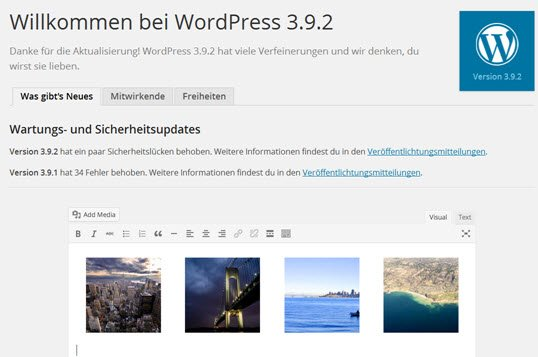 Wordpress 3.9.2