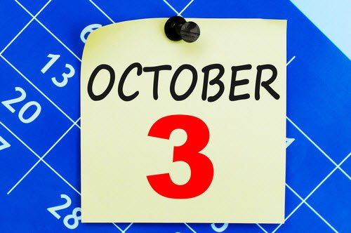 Blitz-Blogparade: Was macht ihr am 3ten Oktober??