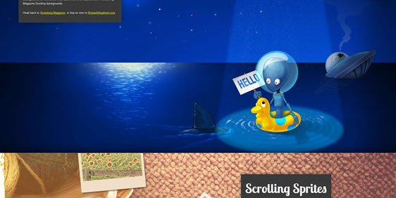 Parallax Scrolling smashing