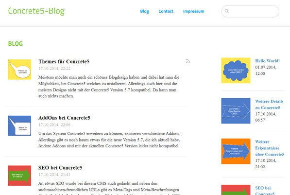concrete5-blog