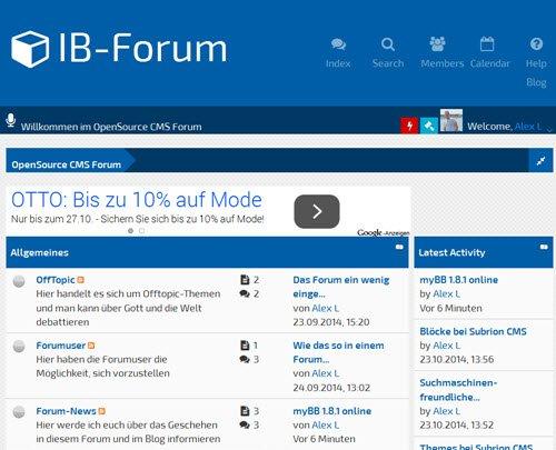 myBB 1.8.1 erschienen