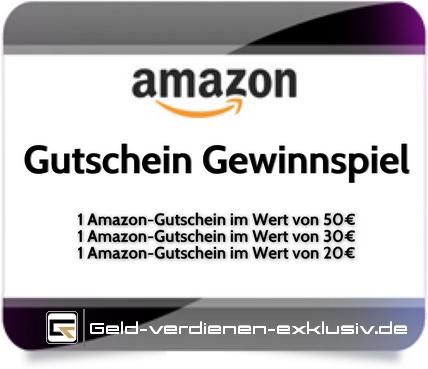 !Achtung! – Amazon Gewinnspiel auf einem der Blogs