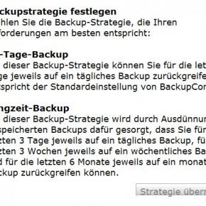 Strato Backup Control