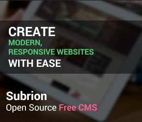 Subrion CMS und Blogsystem