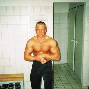 Alexander Liebrecht als Bodybuilder