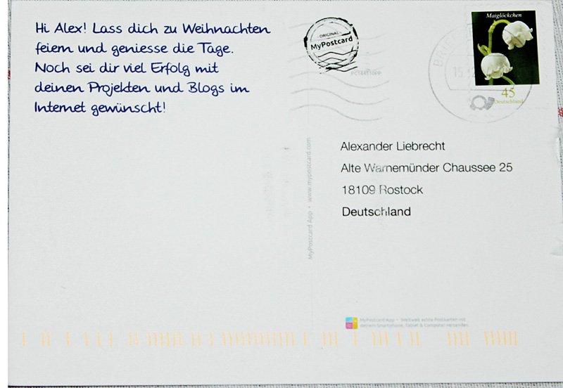 Spell Postkarte Eine Wie Man Schreibt Joahan Lanley