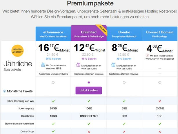 wix-premium-pakete
