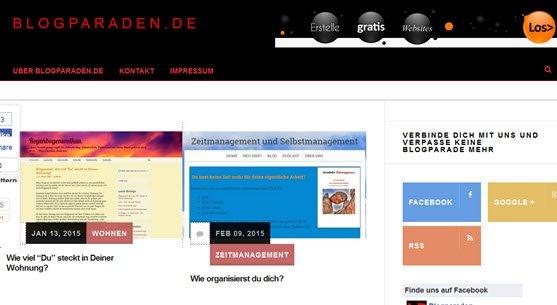Neue Blogparaden-Quelle entdeckt – unter Blogparaden.de