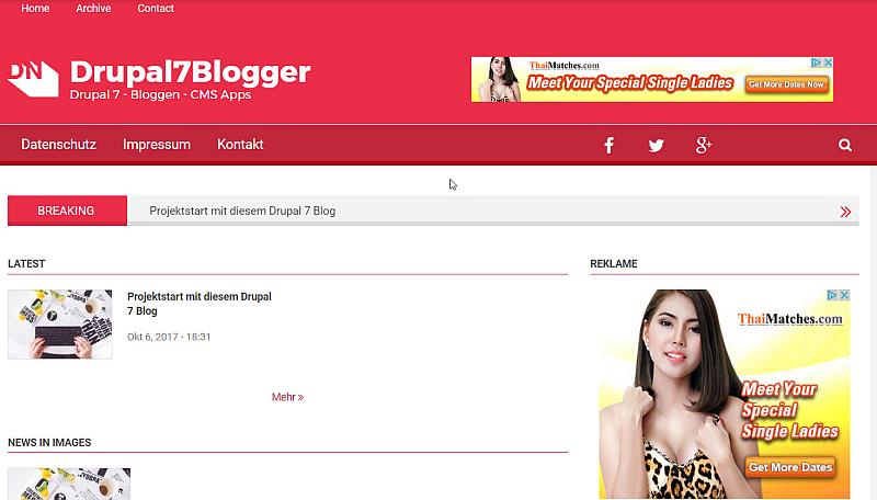 drupal7blogger-blog-frontend