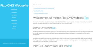 pico-cms-flat-file-blog-im-frontend