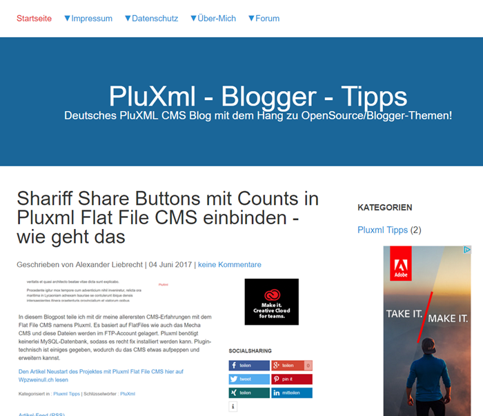pluxml-cms-blog-frontend-wpzweinull-ch