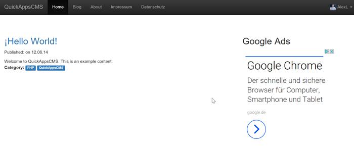 quickapps-cms-webseiten-frontend