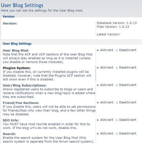 user-blog-mod-einstellungen