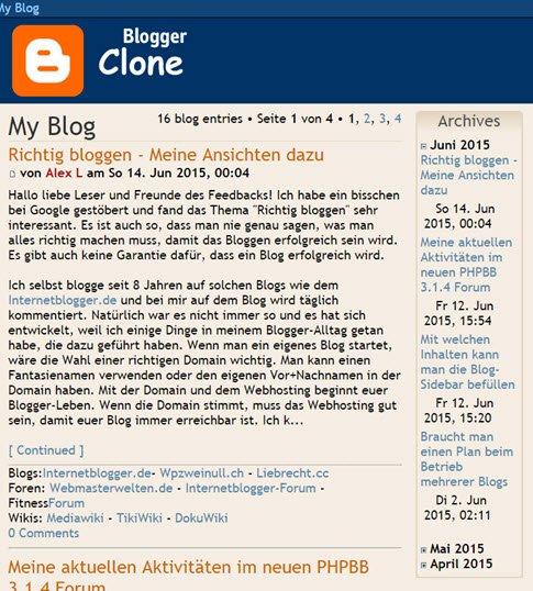 user-blog-mod-phpbb-forum