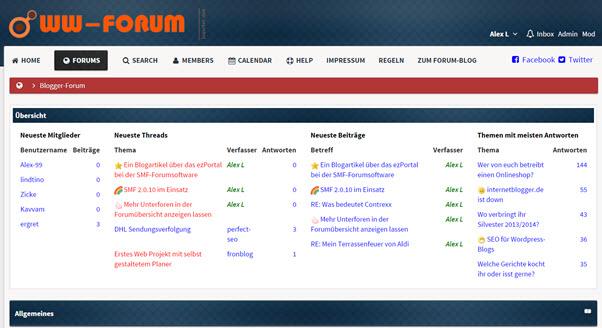 Das Forum bei Internetblogger.de ab morgen geschlossen und gelöscht