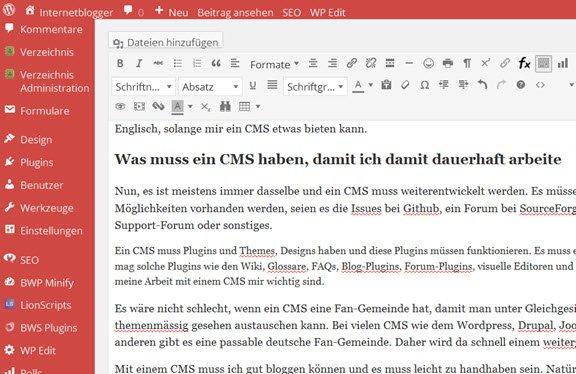 wordpress-cms-backend