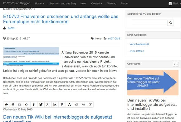e107v2-news-frontend