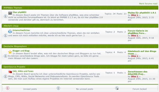 phpbbex-forum-frontend-neu