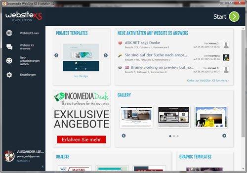 Internetblogger.de – Gewinnspiel- zu verlosen 10 Lizenzen von Homepage Baukasten System WebsiteX5 Evolution 12