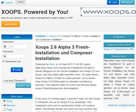xoops26-modul-publisher-artikel-frontend