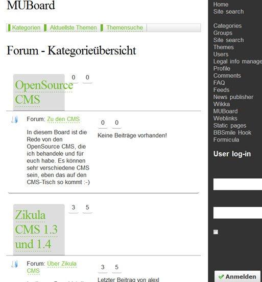 zikula13-muboard-frontend
