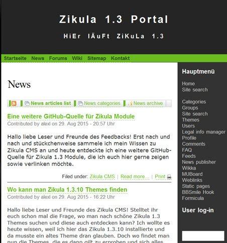 zikula13-portal-frontend