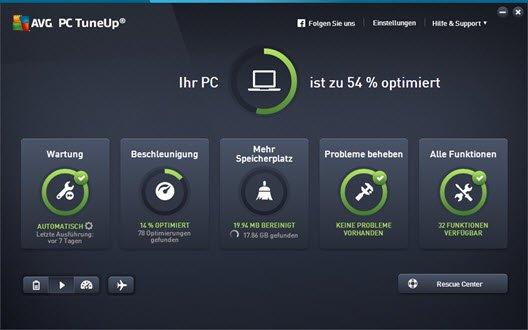 avg-pc-tuneup-startbildschirm
