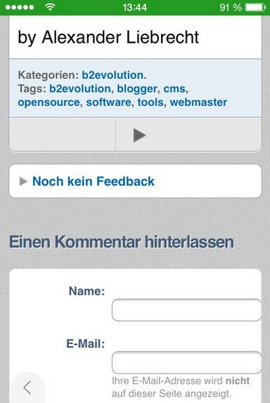 b2evolution-mobil-blog-kommentarfunktion