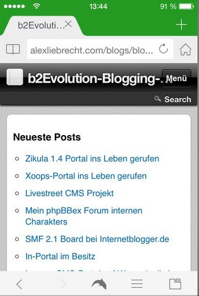 b2evolution-mobil-sammlung-forum