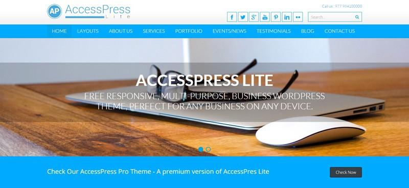 Access Press Lite WordPress Theme