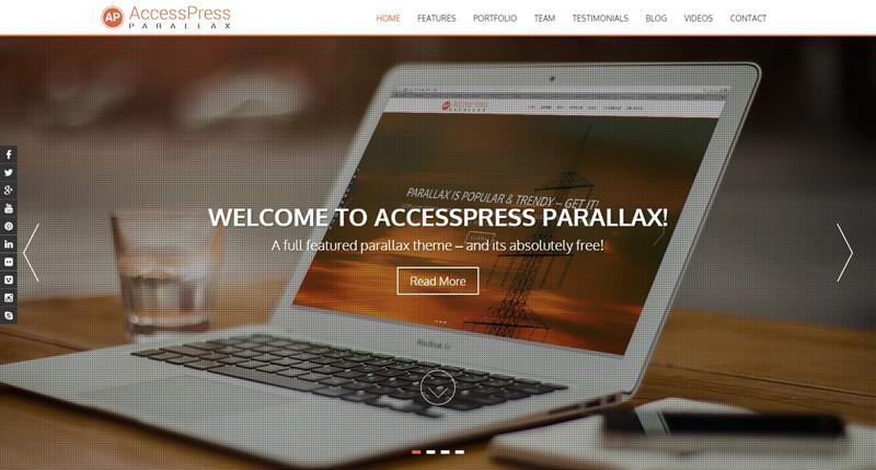 Access Press Parallax WordPress Theme