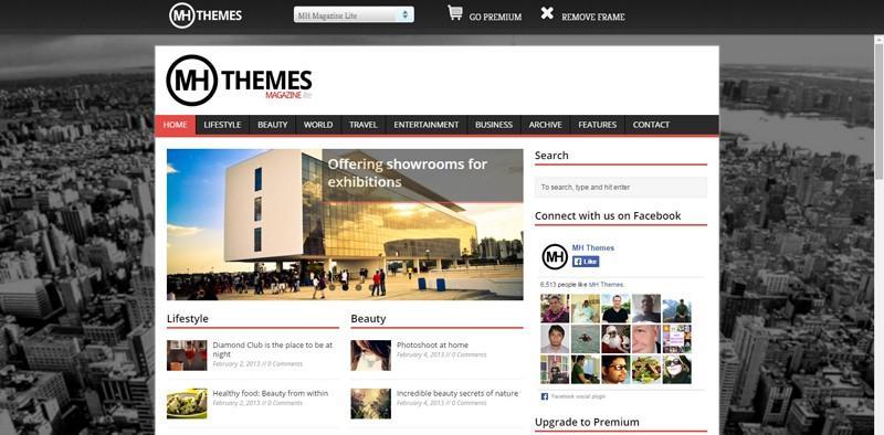MH Magazin Lite WordPress Theme