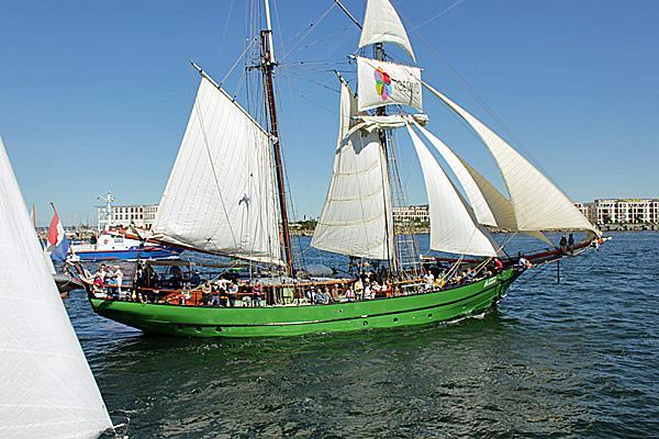 Segelschiff Avatar HanseSail 2015 zu Rostock