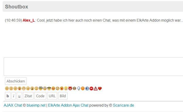 elkarte-ajax-chat-nur-fuer-forumuser