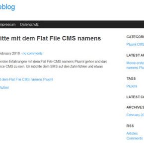 pluxml-cms-blog-frontend