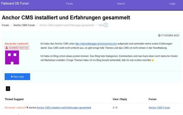 flatboard-frontend-topic-ansicht